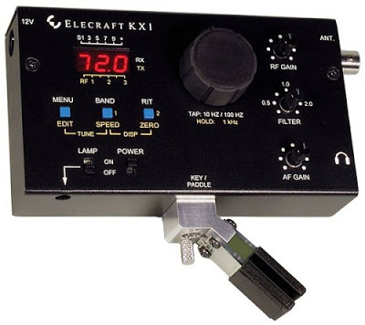 Elecraft's trail-friendly KX1