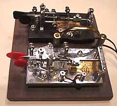 The Vibroplex 'Lightning Deluxe' and 'Original' bugs