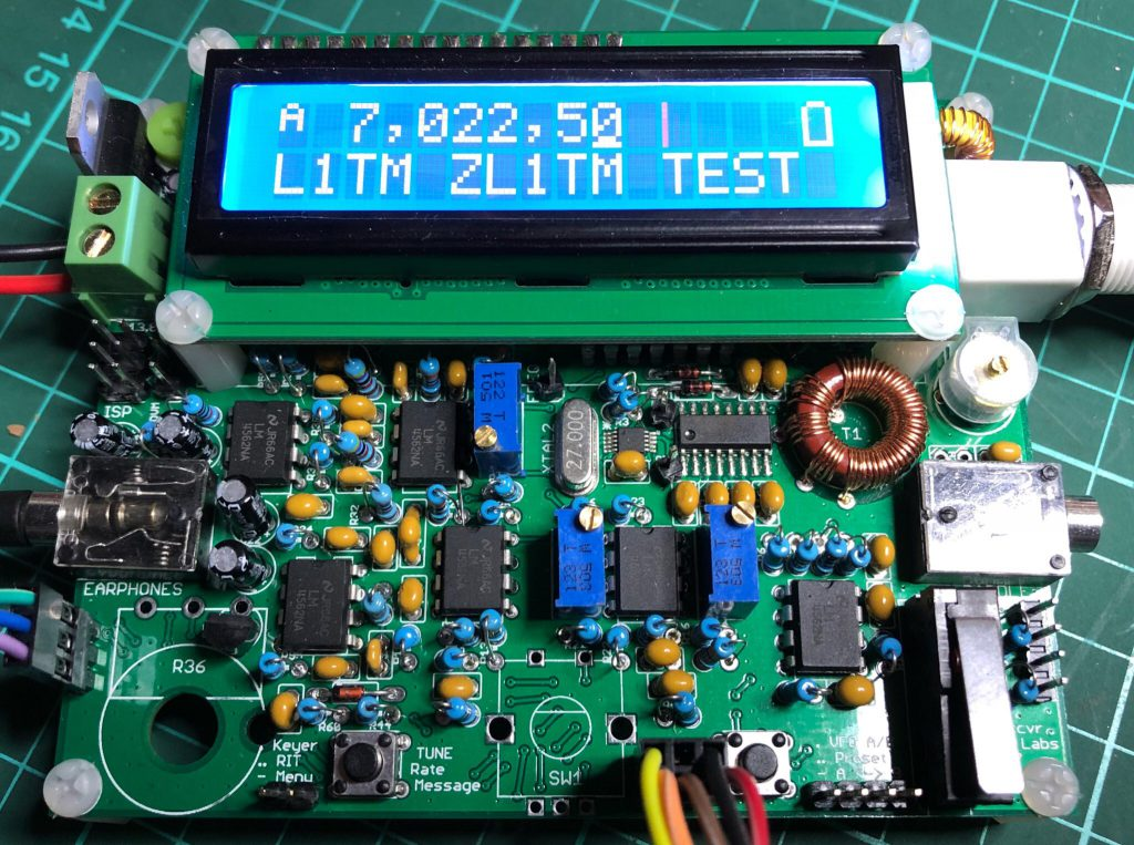 QCX CW transceiver – vk2rh