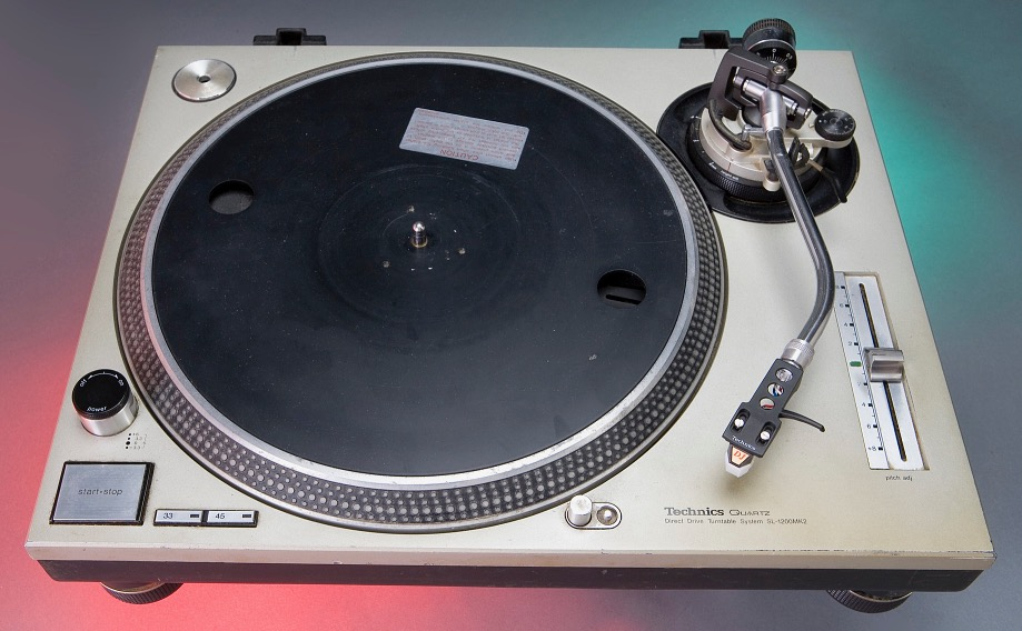 The Technics turntable used by Grandmaster Flash aka Joseph Saddler